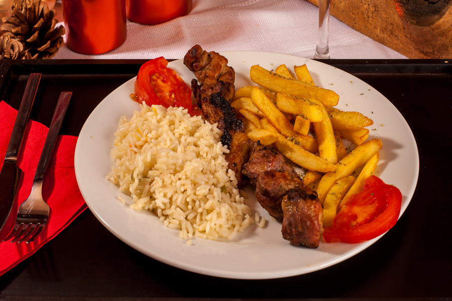 Souvlaki di filetto di vitello